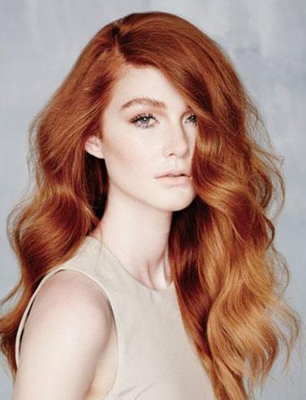 Окрашивание волос хной - рыжий цвет